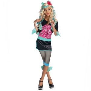Lagoona Blue Monster High kids costume size LG